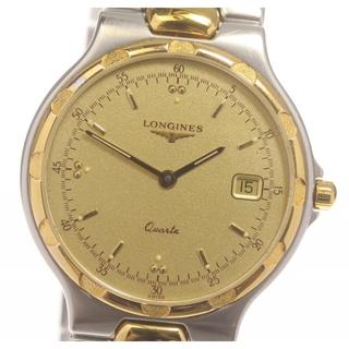 ロンジン(LONGINES)のロンジン コンクエスト デイト L1.614.3 クォーツ メンズ 【中古】(腕時計(アナログ))