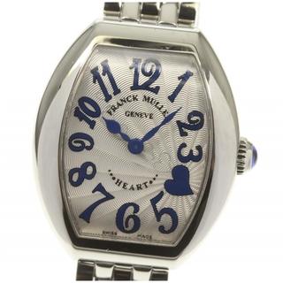 フランクミュラー(FRANCK MULLER)の☆美品 フランクミュラー ハートトゥハート レディース 【中古】(腕時計)