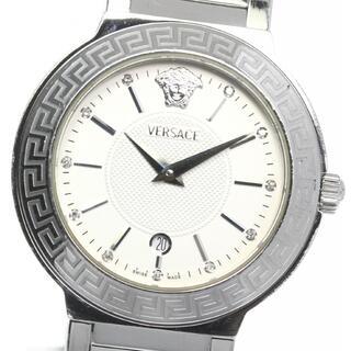 ヴェルサーチ(VERSACE)のヴェルサーチ  デイト ZSQ99 クォーツ ボーイズ 【中古】(腕時計(アナログ))
