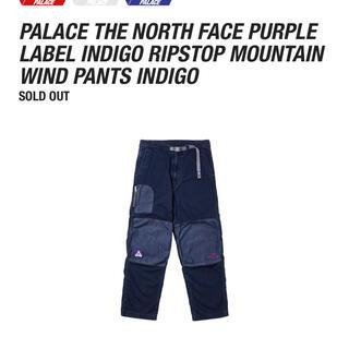 ザノースフェイス(THE NORTH FACE)のPALACE north Face  Indigo Ripstop  pants(デニム/ジーンズ)