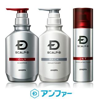 スカルプD - アンファー 薬用スカルプD オイリー/脂性肌用 350ml