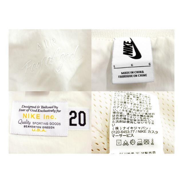 FEAR OF GOD(フィアオブゴッド)のナイキNIKE×フィアオブゴッドFEAR OF GOD■バスケットジャケット メンズのジャケット/アウター(ブルゾン)の商品写真
