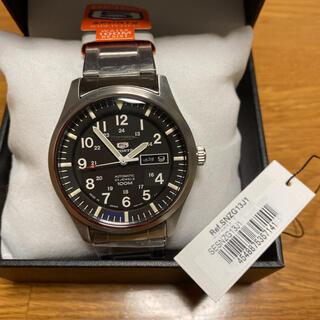 セイコー(SEIKO)のセイコー5 ミリタリー SNZG13J1 ARブルーコートドーム風防未使用(腕時計(アナログ))
