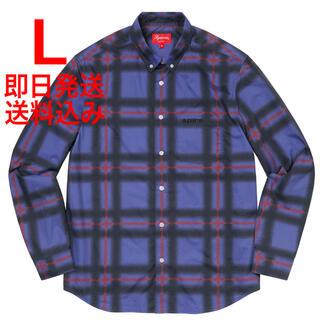 シュプリーム(Supreme)のL supreme Spray Tartan Shirt(シャツ)