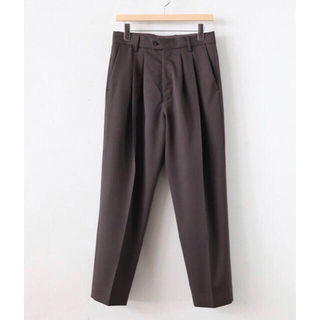 SUNSEA - 最終値下げ stein 20ss WIDE TAPERED TROUSERS_A