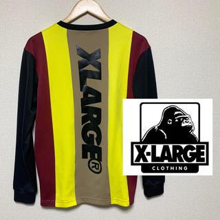 XLARGE - 希少!【XLARGE】エクストララージ スウェット 長袖シャツ イエロー