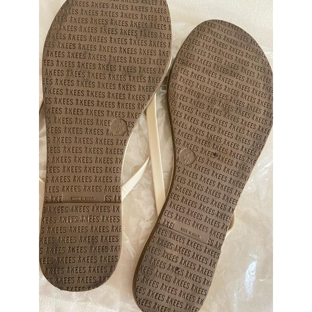Plage(プラージュ)のTKEES パイソン ビーチサンダル レディースの靴/シューズ(ビーチサンダル)の商品写真