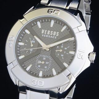 ヴェルサーチ(VERSACE)の【新品即納】ヴェルサス ヴェルサーチ 高級 メンズ腕時計 クロノ 46mm 防水(腕時計(アナログ))