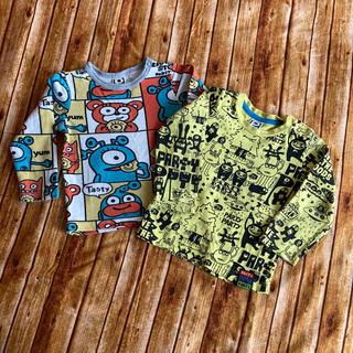 パーティーパーティー(PARTYPARTY)のパーティパーティ 長袖T2枚セット(Tシャツ/カットソー)