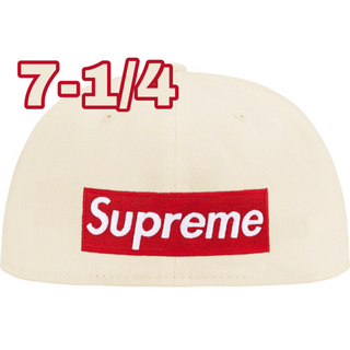 シュプリーム(Supreme)の7-1/4 Supreme Reverse Box Logo New Era(キャップ)