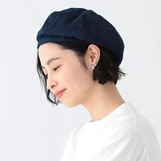 ビームスボーイ(BEAMS BOY)のBEAMS BOY デニム 6パネル ベレー帽(ハンチング/ベレー帽)