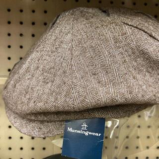 マンシングウェア(Munsingwear)の【マンシングウェアMunsingwear】キャスケット帽子(キャスケット)