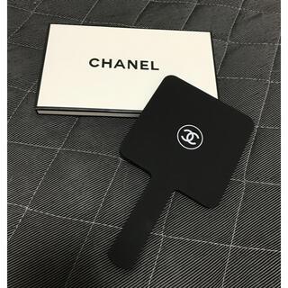 CHANEL - シャネル CHANEL  ミラー ブラック 新品 未使用