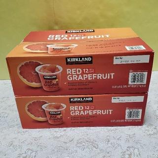コストコ(コストコ)のコストコ グレープフルーツカップ 2箱(フルーツ)