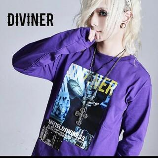 オルターべノム(ALTER VENOMV)のDIVINER新作ロングTシャツ(Tシャツ/カットソー(七分/長袖))