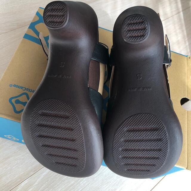 Regetta Canoe(リゲッタカヌー)のRegettaCanoe リゲッタカヌー エレガントバナナヒールサンダル レディースの靴/シューズ(サンダル)の商品写真