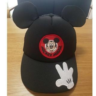 ミッキーマウス(ミッキーマウス)のキッズ☆ミッキーキャップ(帽子)