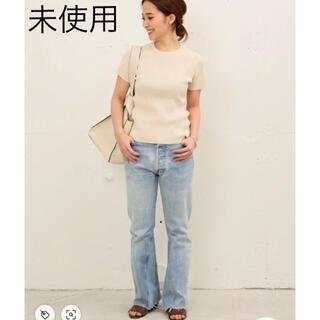 ドゥーズィエムクラス(DEUXIEME CLASSE)のドゥーズィエムクラス   Diner B リブニット Tシャツ(Tシャツ(半袖/袖なし))