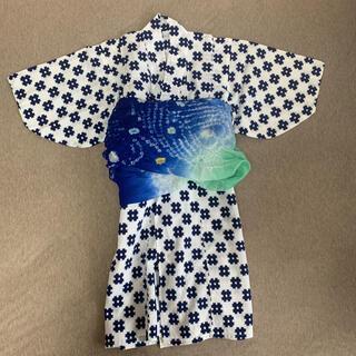 【値引】浴衣 男の子 帯セット(甚平/浴衣)