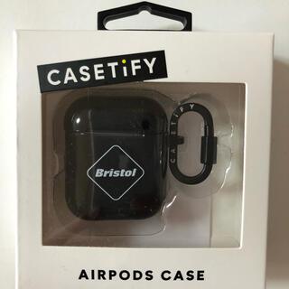 エフシーアールビー(F.C.R.B.)のCASETiFY BRISTOL AirPods CASE black(その他)