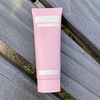 ミュウミュウ(miumiu)のmiumiu ミュウミュウ ハンドクリーム フルールジャルダン 限定商品 (ハンドクリーム)