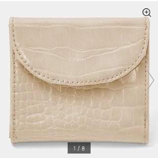ジーユー(GU)の未使用◇GU クロコダイルミニウォレット(財布)