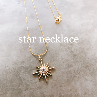 star necklace(ネックレス)