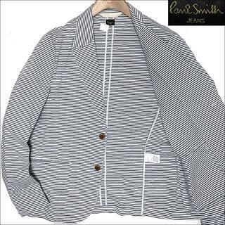 Paul Smith - J3065美品 ポールスミス シアサッカージャケット サックスブルー L2