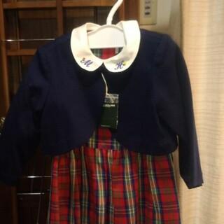 ミキハウス(mikihouse)のmiki HOUSE ボレロ付ワンピース(100)(ドレス/フォーマル)