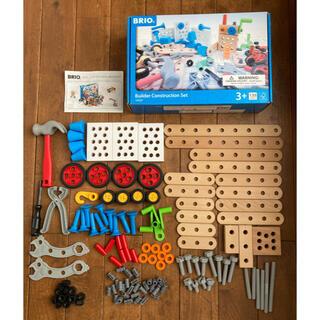 ブリオ(BRIO)の【送料無料】BRIO ブリオ ビルダー コンストラクションセット 工具遊び(知育玩具)