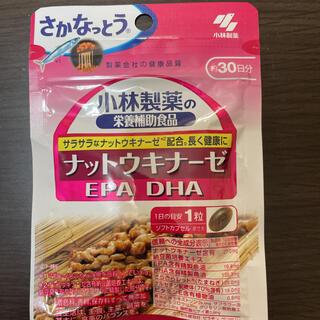 コバヤシセイヤク(小林製薬)のお値下げ不可 小林製薬 栄養補助食品 ナットウキナーゼ・DHA・EPA 30粒入(その他)