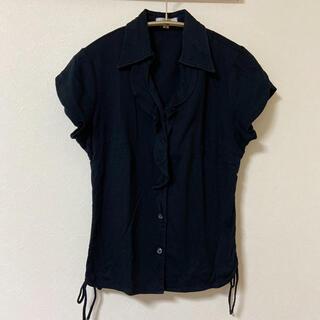 リヨン(LYON)のLYON ブラックシャツ(シャツ/ブラウス(半袖/袖なし))