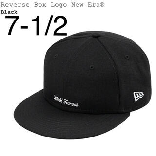 シュプリーム(Supreme)の7-1/2 Supreme Reverse Box Logo New Era® (キャップ)