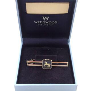 ウェッジウッド(WEDGWOOD)のWEDGWOOD ウェッジウッド ネクタイピン 留め具英国 陶磁器 シルバー金(その他)