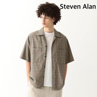 スティーブンアラン(steven alan)の<Steven Alan> DMP CHECK CAMP COLLAR /シャツ(Tシャツ/カットソー(半袖/袖なし))