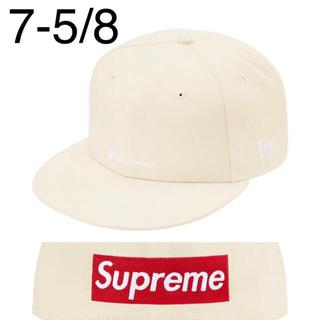 シュプリーム(Supreme)のReverse Box Logo New Era White 7-5/8(キャップ)