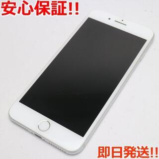 アイフォーン(iPhone)の美品 au iPhone7 PLUS 32GB シルバー (スマートフォン本体)