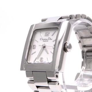 クリスチャンディオール(Christian Dior)の【ChristianDior】ディオール 時計 'リヴァ' シルバー ☆極美品☆(腕時計)