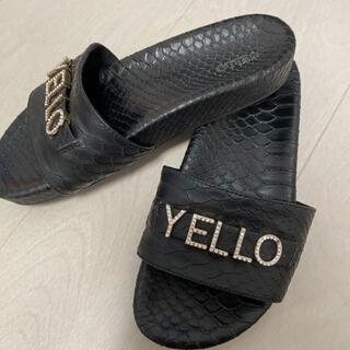 Yellow boots - yello サンダル