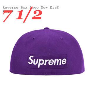 シュプリーム(Supreme)のSupreme Reverse Box Logo New Era(キャップ)