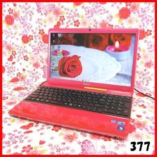 ソニー(SONY)のノートパソコン本体♪VAIOピンク♪新品SSD♪Webカメラ♪Windows10(ノートPC)