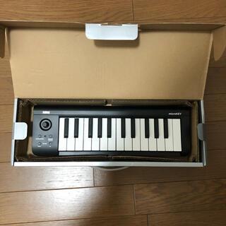 コルグ(KORG)のmicroKEY-25 MIDI25鍵(MIDIコントローラー)