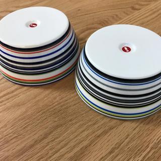 イッタラ(iittala)のあーちゃん様専用 イッタラオリゴ 廃盤色ブラック、ライトブルー(食器)