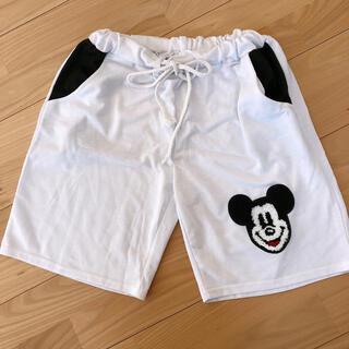 ディズニー(Disney)の美品 ミッキーマウス ハーフパンツ(ハーフパンツ)