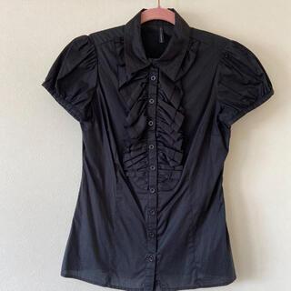 NAF NAF パフスリーブシャツ(シャツ/ブラウス(半袖/袖なし))
