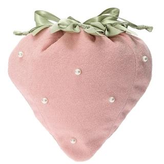 メゾンドフルール(Maison de FLEUR)の新品未使用 Maison de FLEUR いちご巾着ポーチ ピンク(その他)
