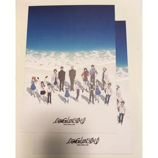 カラー(Color)の2枚 シン エヴァンゲリオン 入場特典 シン ビジュアルカード 非売品(ノベルティグッズ)