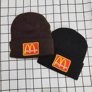 カクタス(CACTUS)のカクタスジャック トラヴィススコット マクドナルド ニット帽 ビーニー帽(ニット帽/ビーニー)