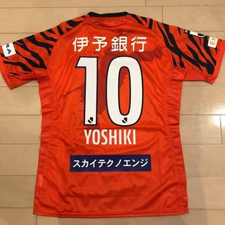 MIZUNO - 新品 J2愛媛FC サッカーユニホーム オーセンティック サイズL