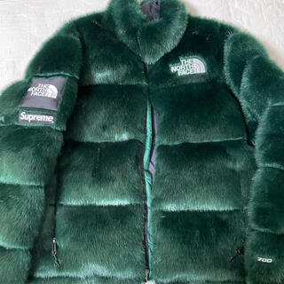 シュプリーム(Supreme)のSupreme The North Face FauxFur Nuptse(ダウンジャケット)